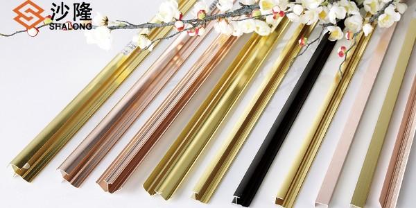 铝合金装饰线条的颜色有哪几种