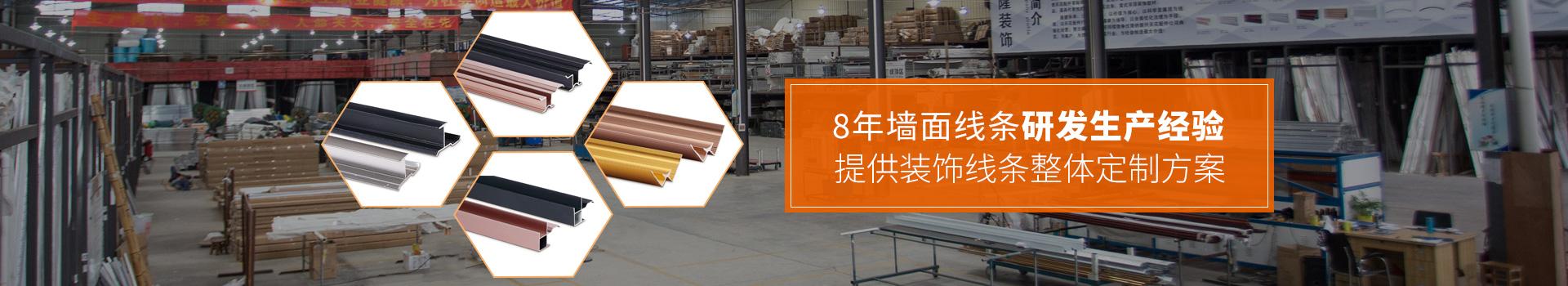 沙隆装饰-8年墙面线条研发生产经验,提供线条装饰整体定制方案